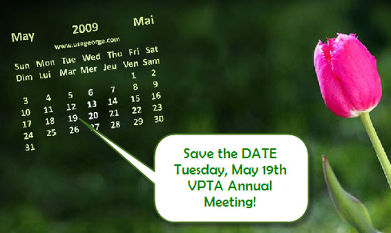 Make sure you plan on attending this ONCE A YEAR meeting!