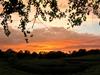 Sunset over Hidden Valley Park